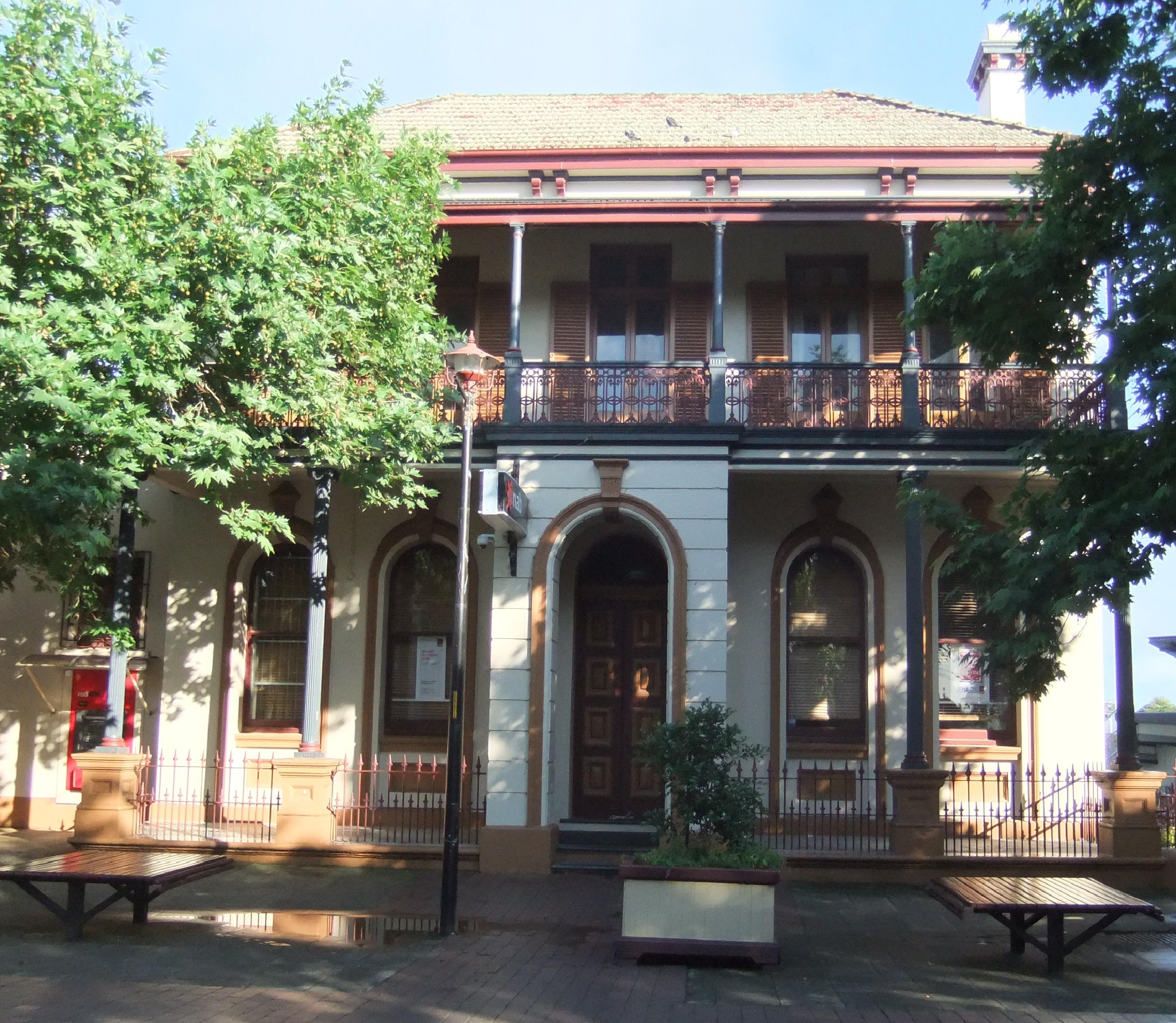 Former Commercial Bank, Windsor now National Australia Bank