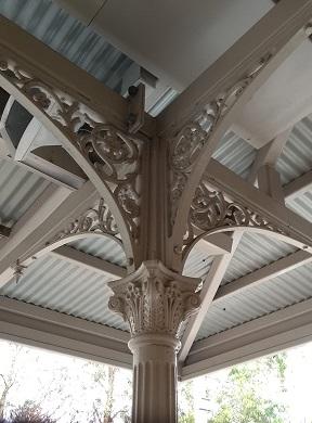 Windsor Railway Station ironwork