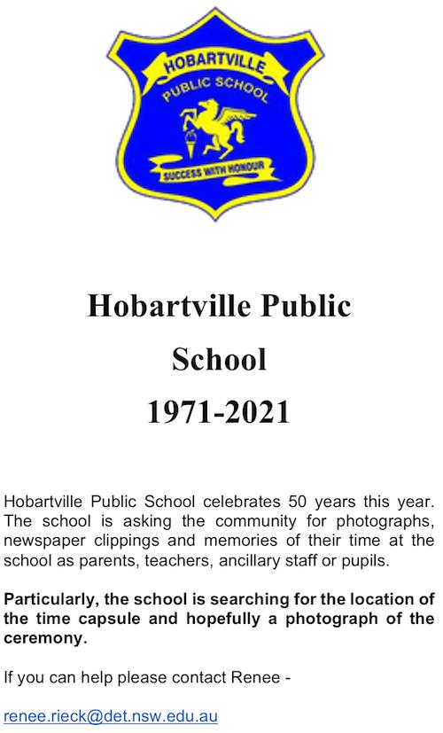 Hobartville Public School 1971-2021